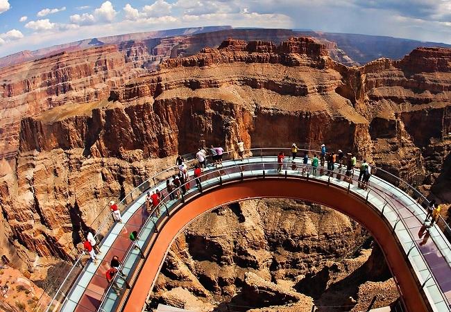 grand canyon skywalk usa